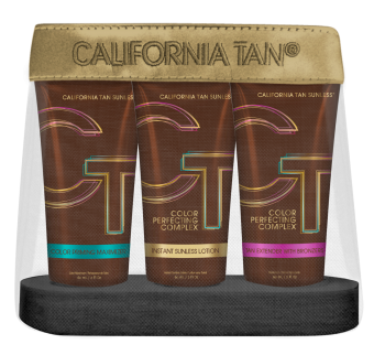 California Tan - 2018 Sunless Maintenace Kit 3 x 60 ml Step 1 (177ml)