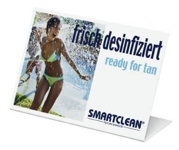Smartclean  Aufsteller / deutsch