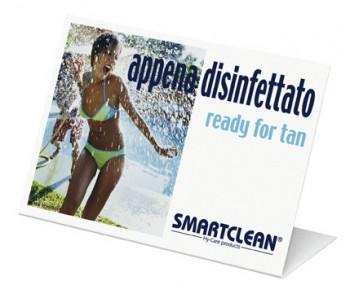 Smartclean  Aufsteller / italiano