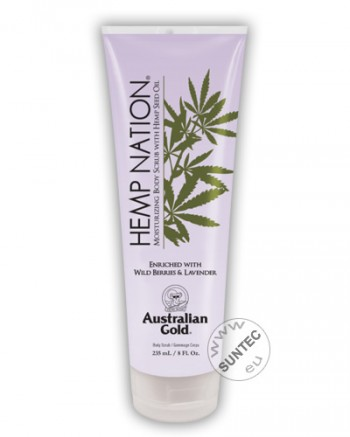 Australian Gold - Hemp Nation Wild Berries & Lavender Body Scrub (235 ml)