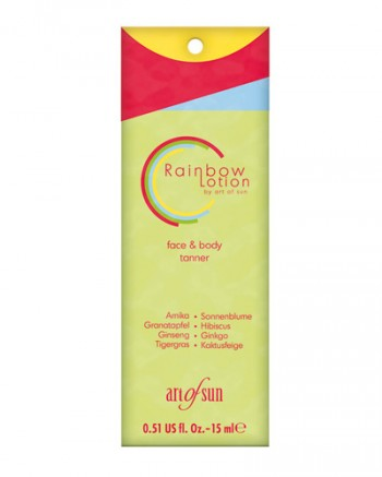 Art of Sun - Rainbow Lotion face & body tanner (15 ml)