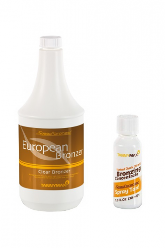 Tannymaxx - Spray Tan Direct Bronzer European (1000 ml + 30 ml)