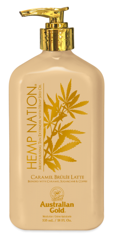 Australian Gold - Hemp Nation Caramel Brulee Latte Body Lotion (535 ml)
