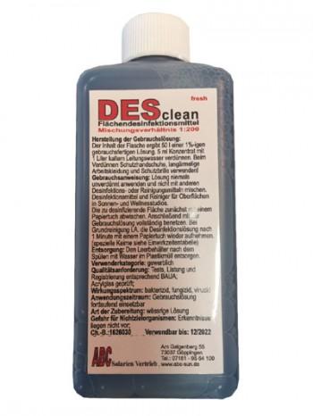 DESclean - Fresh  Flächendesinfektionsmittel  (250ml)