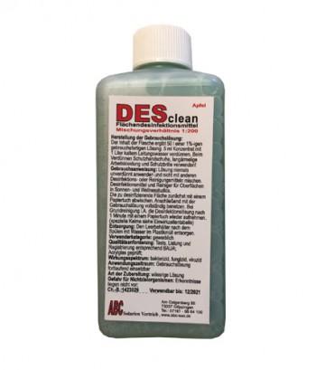 DESclean - Apfel  Flächendesinfektionsmittel  (250ml)