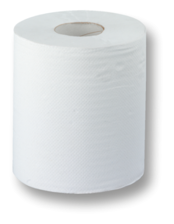 Papierrollen hochweiß Zellstoff (24 Rollen)