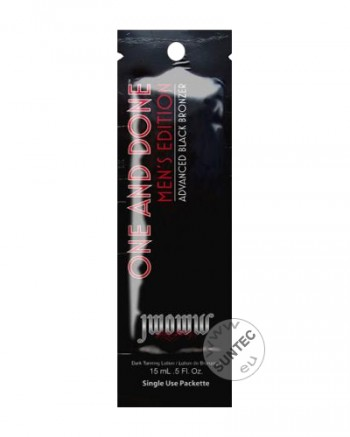 JWOWW - One And Done 'Advanced Black Bronzer For Men' (15 ml x 10 Stück)