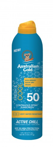 Australian Gold - SPF 50 Continuous Active Chill (177 ml)
