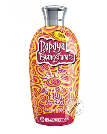 SuperTan - Papaya & Pomegrante (200 ml)