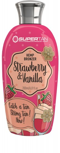 SuperTan -  Strawberry & Vanilla (200 ml)