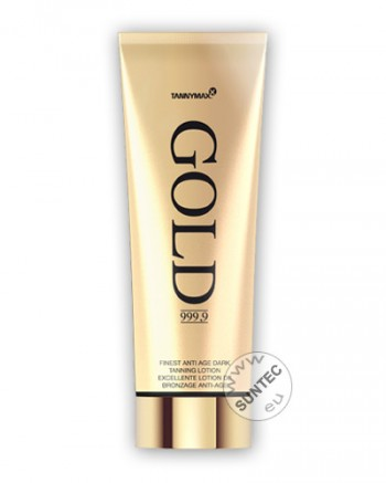 Tannymaxx - Gold 999,9 Finest Anti Age Dark Tanning Lotion (200 ml)