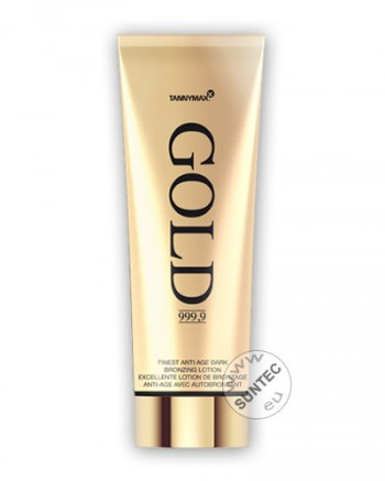 Tannymaxx - Gold 999,9 Finest Anti Age Dark Bronzing Lotion (200 ml)
