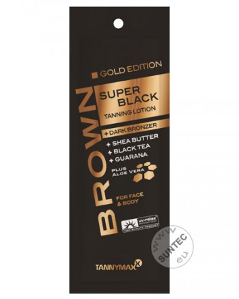 Tannymaxx - Super Black Gold Tanning + Bronzer Lotion (15 ml)