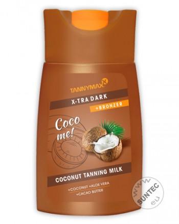 Tannymaxx - Xtra Dark Coconut Tanning Milk + Bronzer (200 ml)
