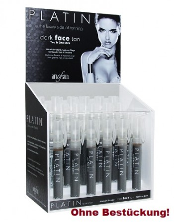 art of sun - Acryl-Display für den PLATIN dark face tan Stift 10 ml (ohne Bestückung)