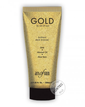 Art of Sun - GOLD brilliant dark bronzer (200 ml)