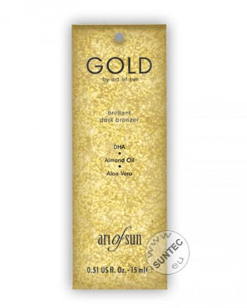Art of Sun - GOLD brilliant dark bronzer (15 ml)
