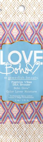Swedish Beauty - Love Boho Positive Vibes DHA Bronzer (15 ml x 10 Stück)